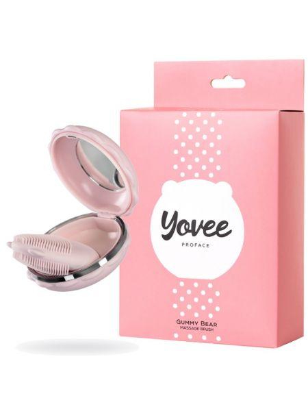 Масажер для обличчя Yovee Gummy Bear, рожевий